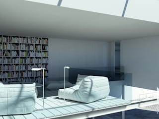 ARTEQUITECTOS Modern Study Room and Home Office