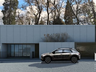 Modern Houses by ARTEQUITECTOS Modern