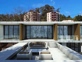 ARTEQUITECTOS Modern style balcony, porch & terrace