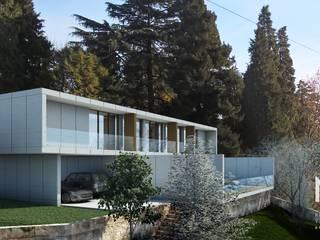 Vườn phong cách hiện đại bởi ARTEQUITECTOS Hiện đại
