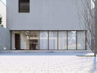 Modern windows & doors by ARTEQUITECTOS Modern