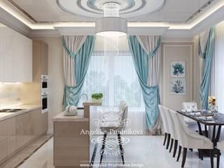 Дизайн-проект интерьера кухни в г. Астрахань Кухня в классическом стиле от Дизайн-студия элитных интерьеров Анжелики Прудниковой Классический