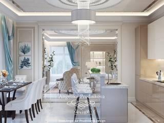Classic style kitchen by Дизайн-студия элитных интерьеров Анжелики Прудниковой Classic