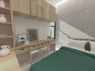 Amaranta Residence - 1st phase Studio Benang Merah Kamar tidur kecil