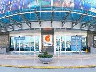 İzmir Prekast – TEPE NAUTILUS AVM: minimalist tarz , Minimalist
