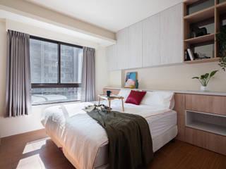 新世紀特區 榯榯空間設計/和倫營造有限公司 臥室