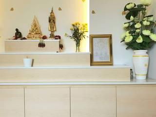 บ้านคุณพลอย พระราม3: ทันสมัย  โดย BAANSOOK Design & Living Co., Ltd., โมเดิร์น