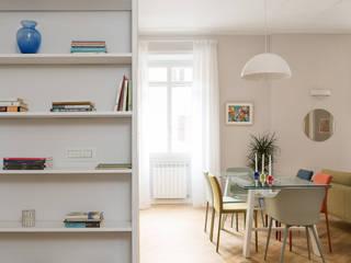 Grippo + Murzi Architetti Modern corridor, hallway & stairs