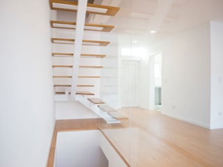 Decor-in, Lda Escaleras Madera Blanco
