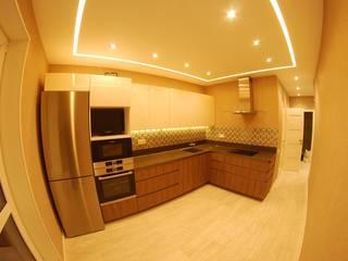 Ремонт квартиры в ЖК Riverside Кухня в стиле минимализм от ИнтекСтрой Минимализм