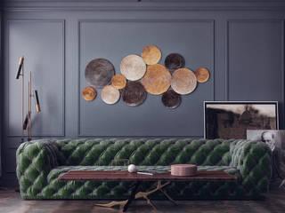 VITTAGROUP Salon classique Béton Noir