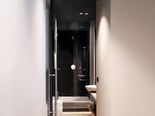 Progetti vari Onice Architetti Ingresso, Corridoio & Scale in stile moderno