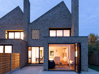 Woodside Mews por TAS Architects Moderno