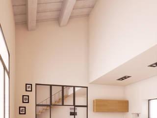 Render arredamento per studio di architettura di Stefano Mimmocchi Rendering