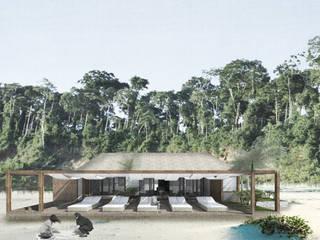 F Villa Event Venue Tropis Oleh Studio Benang Merah Tropis
