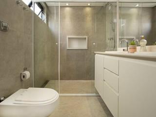 Vidros em Geral Banheiros modernos por Top Glass Soluções em Vidros Moderno