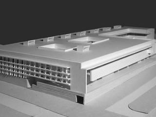 Projecto de Concurso limitado para a Sede da Edia em Beja Escritórios mediterrânicos por Jorge Cruz Pinto + Cristina Mantas, Arquitectos Mediterrânico