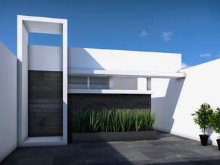 CASA HJ Casas modernas de ODRACIR Moderno