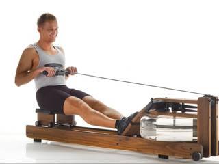 Luxury Designer Home Gym and Fitness Equipment from WaterRower Ruang Olahraga Gaya Skandinavia Oleh GymRatZ Gym Equipment Skandinavia