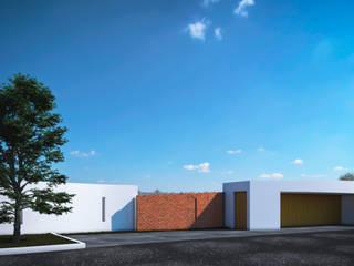 ACCESO PRIM Casas modernas de ODRACIR Moderno
