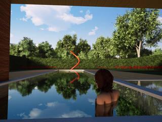 Modern Pool by BIOVILLA Modern