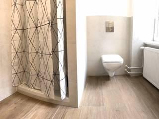 KHG Raumdesign - Innenarchitektin in Berlin und Umland, mgr. ing. Architektur Katharina Hajduk-Gast 衛浴浴缸與淋浴設備 陶器 White