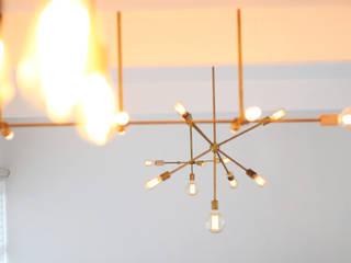 Fabricación de lamparas a medida de lobby, habitaciones hotel boutique luz design SalasIluminación