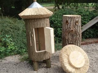 Jardines de estilo rústico de Holzbau Bohse Rústico