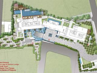 La Vie All Suites Apartments Oleh ARLAN Landscape Architects Modern