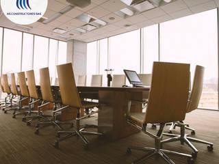 Oficinas de AS Constructores Moderno