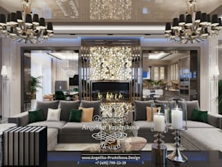 Дизайн-проект интерьера коттеджа в г. Брянск Коридор, прихожая и лестница в классическом стиле от Дизайн-студия элитных интерьеров Анжелики Прудниковой Классический