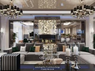 Classic style corridor, hallway and stairs by Дизайн-студия элитных интерьеров Анжелики Прудниковой Classic