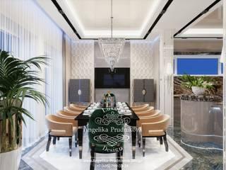 Дизайн-проект интерьера столовой в стиле ар-деко в г. Брянск Столовая комната в классическом стиле от Дизайн-студия элитных интерьеров Анжелики Прудниковой Классический