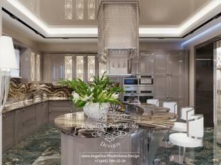Дизайн-проект интерьера кухни в стиле ар-деко в г. Брянск Кухня в классическом стиле от Дизайн-студия элитных интерьеров Анжелики Прудниковой Классический