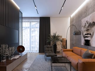 Modern Living Room by A-Plan Interior Design Modern