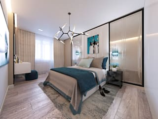 Eclectic style bedroom by A-Plan Interior Design Eclectic