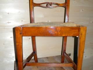 Gli Artigiani dei f.lli M.& S. Cordi snc Dining roomChairs & benches Wood Wood effect