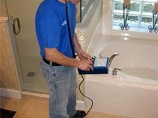 شركة كشف تسربات المياه بالرياض 0552777862 شركة كشف تسربات المياه بالرياض Office spaces & stores الألومنيوم / الزنك Wood effect