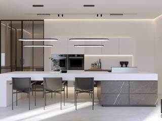 Minimalist kitchen by U-Style design studio Minimalist