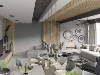 Sui Architecture | House Design | Antalya Sui Mimarlık Modern Oturma Odası