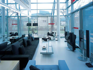SERPİCİ's Mimarlık ve İç Mimarlık Architecture and INTERIOR DESIGN Interior landscaping Aluminium/Seng White