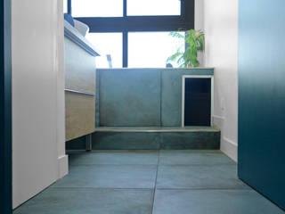 Rénovation appartement verrière asymétrique par Sarah Archi In'