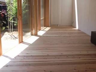 修学院の住宅 北欧デザインの リビング の 奥村幸司建築設計室 北欧