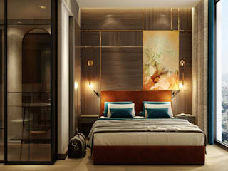 WALL INTERIOR DESIGN Chambre moderne