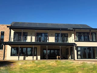 Private Residence Blair Atholl, Lanseria Aluglass Bautech (Pty) Limited Glass doors Glass