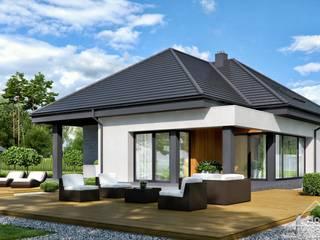 Projekt domu HomeKONCEPT 54 HomeKONCEPT   Projekty Domów Nowoczesnych