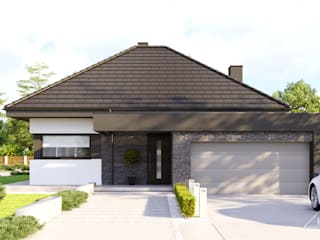 Projekt domu HomeKONCEPT 55 HomeKONCEPT   Projekty Domów Nowoczesnych