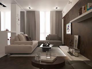 Дизайн интерьера квартир Гостиная в стиле минимализм от Design Studio «INTERIO» Минимализм