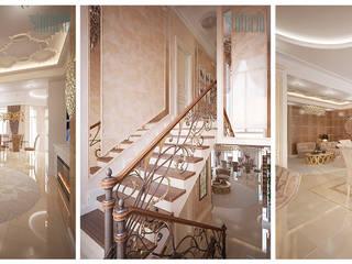 Дизайн интерьера коттеджа Гостиная в классическом стиле от Design Studio «INTERIO» Классический