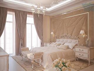 Дизайн интерьера коттеджа Спальня в классическом стиле от Design Studio «INTERIO» Классический